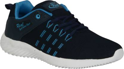 Real Running Shoes For Men Running Shoes For Men  (Blue, Navy)