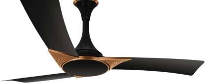 LUMINOUS 1200 mm 3 Blade Ceiling Fan (Black Cupper pack of 1) 1200 mm 3 Blade Ceiling Fan