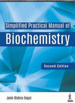 Simplified Practical Manual of Biochemistry