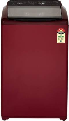 Whirlpool 7.5 kg 5 Star, Hard Water wash Fully Automatic Top Load Maroon