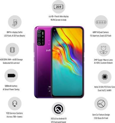 Infinix Hot 9 Pro (Violet, 64 GB)