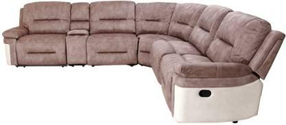 Hometown Jupiter Lounger Fabric 6 Seater  Sofa