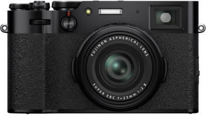 FUJIFILM X Series X100V Mirrorless Camera Body with f-23 mm Lens