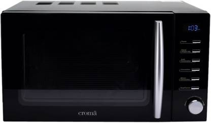 Croma 20 L Convection & Grill Microwave Oven(CRAM0193, Black)