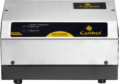 Candes Elite Voltage Stabilizer for Refrigerator up to 350 Ltr (Input Working Range 90 V - 300 V) Voltage Stabilizer