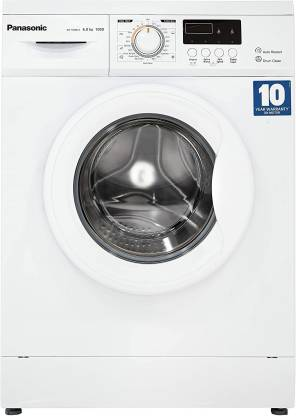 Panasonic 6 kg Fully Automatic Front Load with In-built Heater White