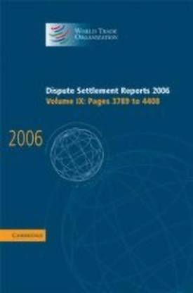 Dispute Settlement Reports 2006: Volume 9, Pages 3789-4408