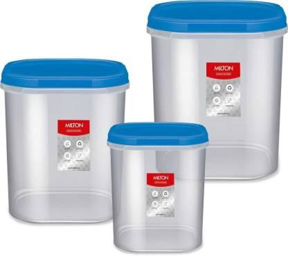 MILTON  - 2000 ml, 3000 ml, 4000 ml Plastic Grocery Container
