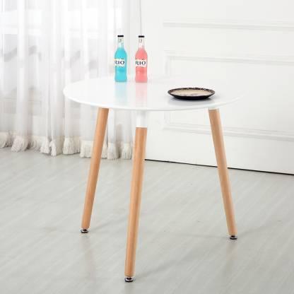 Finch Fox Mdf Modern Round Table With, Round Furniture Legs