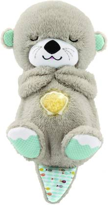 FISHER PRICE SOOTHE 'N SNUGGLE OTTER(Multicolor)