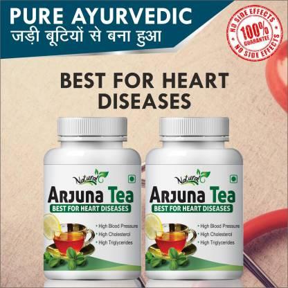 Natural Arjuna Tea For Heart Care 100% Ayurvedic