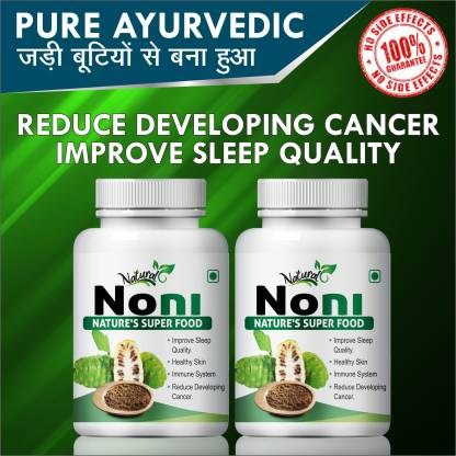 Natural Noni Nature's Super Food Capsules 100% Ayurvedic