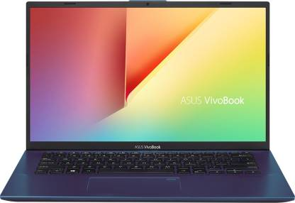 Asus VivoBook 14 Core i5 10th Gen - (8 GB/1 TB HDD/256 GB SSD/Windows 10 Home/2 GB Graphics) X412FJ-EK513T Thin and Light Laptop