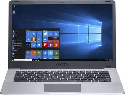 Avita Pura Core i3 8th Gen - (4 GB/256 GB SSD/Windows 10 Home in S Mode) NS14A6INT441-SGGYB Thin and Light Laptop  (14 inch, Space Grey, 1.34 kg)