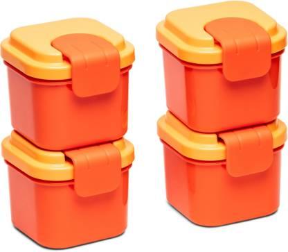 TUPPERWARE Small snack container Klik Klack small 4 Piece Spice Set