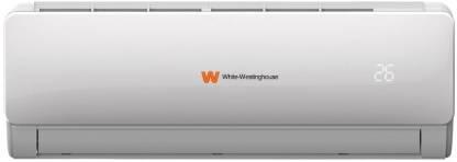 White Westing House 1 Ton 3 Star Split AC  - White