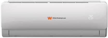 White Westing House 1.5 Ton 3 Star Split AC  - White