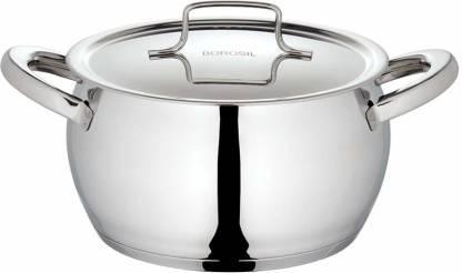 Borosil Induction Bottom Cookware Set