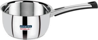 Renberg Steelix Plus Sauce Pan 14 cm diameter Stainless Steel, Induction Bottom  Renberg Pans
