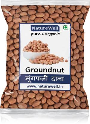 Naturewell Brown Raw Peanut (Whole)
