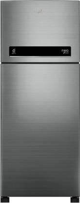 Whirlpool 265 L Frost Free Double Door 2 Star  2020  Refrigerator Arctic Steel, NEO DF278 PRM  2s  N