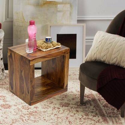 TimberTaste Sheesham Wood Solid Wood Side Table