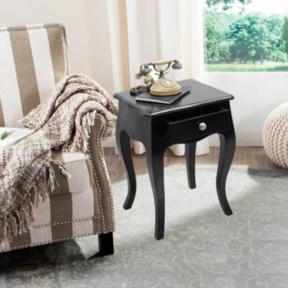 TimberTaste LOPAZ Solid Wood Side Table