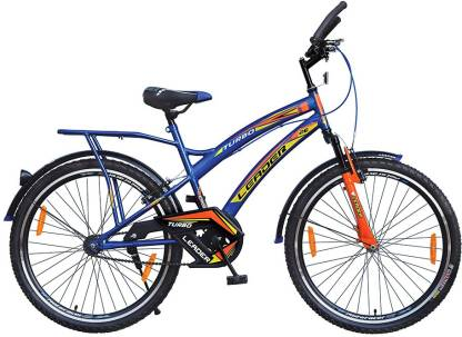 LEADER 26T IBC FRONT SUSPENSION 26 T Mountain Cycle   Single Speed, Blue, Orange
