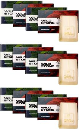 Wild Stone 6 Forest Spice & 6 Ultra Sensual Soap Combo (3+1 Combo x 3) (75 g each)