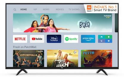 Mi 4A Pro 108 cm (43) Full HD LED Smart Android TV