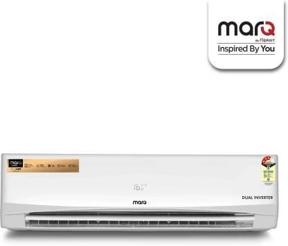 MarQ By Flipkart 1.5 Ton 3 Star Split Dual Inverter AC  - White