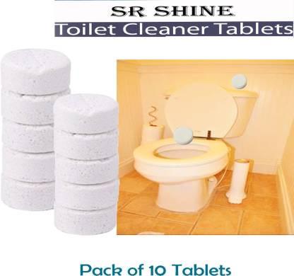 S R Shine Tablet Toilet Bowl Cleaner, Boys Bathroom Cleaner