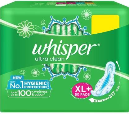 Whisper Ultra Clean XL Plus Wings Sanitary Pad