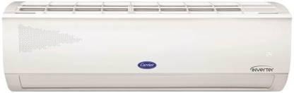 CARRIER 1.2 Ton 5 Star Split Inverter AC with PM 2.5 Filter  - White