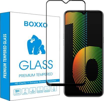 Boxxo Edge To Edge Tempered Glass for Realme Narzo 10