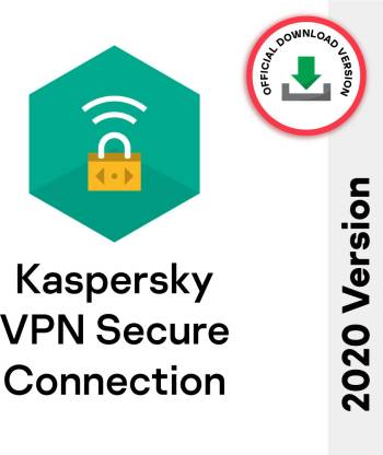 Kaspersky Secure Connection 5 Devices 1 Month VPN Security (Email Delivery - No CD)