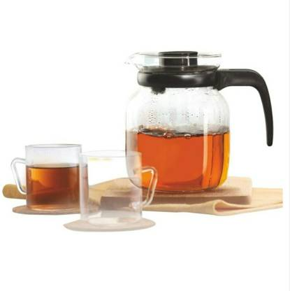 BOROSIL (Pack of 3) Classic Tea Set, 3-Pieces Glass Set