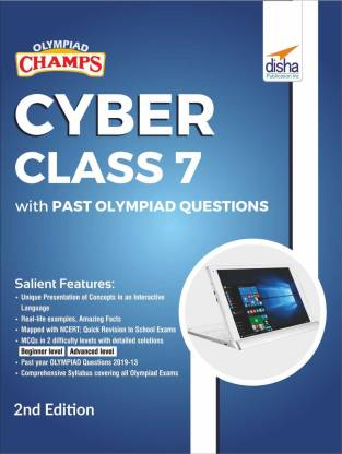 Olympiad Champs Cyber Class 7 with Past Olympiad Questions 2nd Edition(English, Paperback, Disha Experts)
