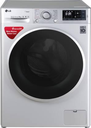 LG 8 kg Inverter Wi-Fi Fully-Automatic Front Loading Washing Machine with Inbuilt Heater & TurboWash Silver
