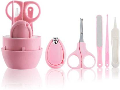 Yourcull Baby Manicure Kit, Uneeber 5-in-1 Baby Nail Care Set, Safe Baby Nail Clipper, Scissor, File's Tweezer, Baby Nail Care Kit for Newborn, Infant's Toddler