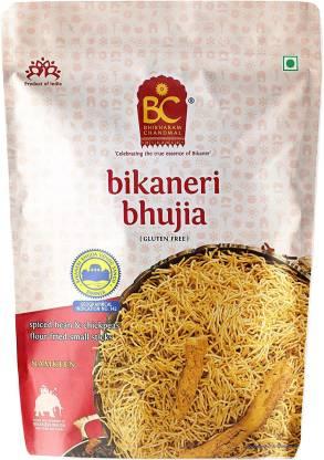 BHIKHARAM CHANDMAL Bikaneri Bhujia 1kg (Pack of 1)