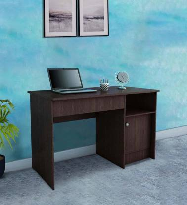 Allie Wood Engineered Wood Study Table