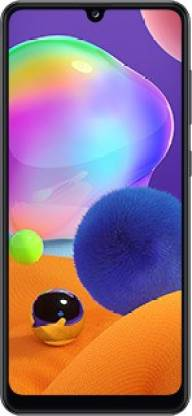 Samsung Galaxy A31 (Prism Crush Black, 128 GB)
