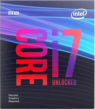 Intel Core i7-9700KF 3.6 GHz Upto 4.9 GHz LGA 1151 Socket 8 Cores 8 Threads 12 MB Smart Cache Desktop Processor