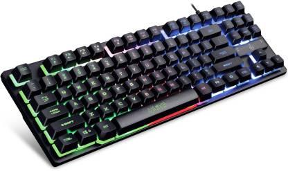 AMKETTE EvoFox Fireblade LED Backlit Wired USB Gaming Keyboard