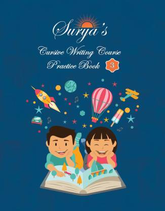 Surya's Cursive Writing Course - Practice Book 3