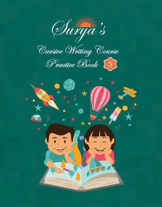 Surya's Cursive Writing Course - Practice Book 5