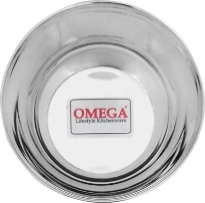 Omega Mukta Vati 4.5 Stainless Steel Serving Bowl