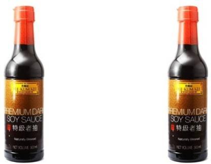 Lee Kum Kee Premium Dark Soy Sauce -500 ml (pack of 2) Sauce