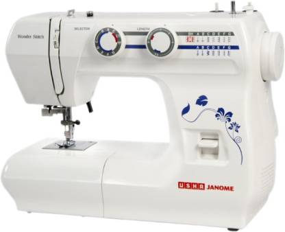 Usha Janome Wonder Stitch with sewing kit Electric Sewing Machine